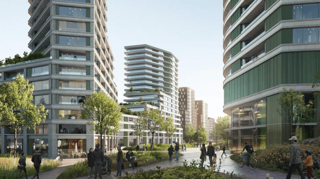 Leiden | Nieuwe woontorens